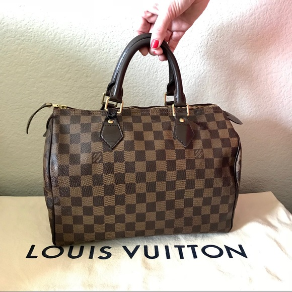 50dbf3e358bb Louis Vuitton Handbags - Louis Vuitton Speedy 30 Damier Ebene Authentic